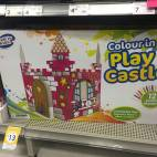 Bargain -  - Kmart | $13 colour in play castle