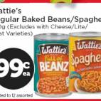 Bargain -  - New World - Big Birthday Party - Wattie`s Baked Beans/Spaghetti $0.99ea - limit of 12
