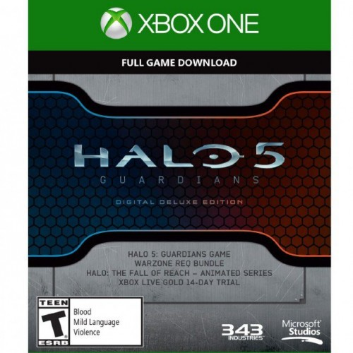Bargain - $26.99 (Usually $89.99 - Halo 5 Guardians Digital Deluxe Edition Xbox One Digital Code CD Key, Key @ CdKeys.com