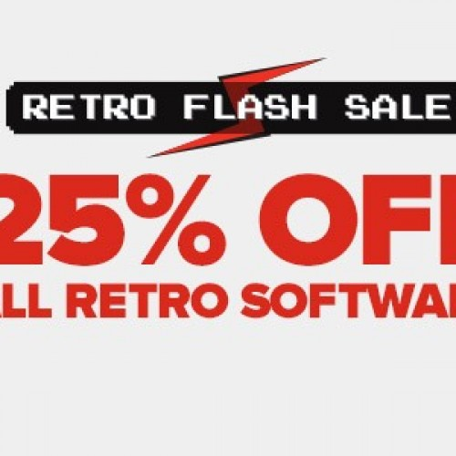 Bargain - 25% OFF - All Vintage Software @ Game Stop
