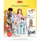 Bargain -  - Kmart - Kids Colour in Play Castle $19 Includes 12 jumbo coloured markers. Starts April 2nd