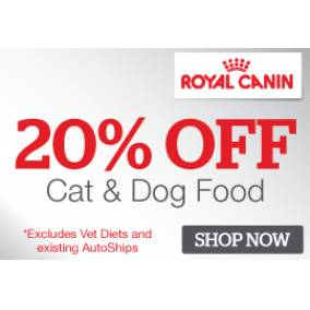 Bargain -  - Pet.co.nz - 20% Off Royal Canin Dog and Cat Food