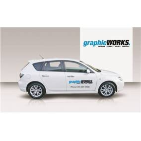 Bargain -  - $195 for a Set of Vehicle Decals incl. Shipping or Installation from Graphicworks Limited (value up to $280)
