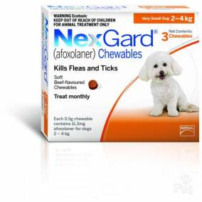 Bargain -  - $28.95 (Was $36.19) NexGard Chewables For Dogs - 3 Pack