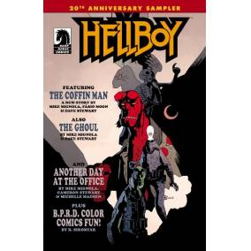 Bargain -  - Free Hellboy 20th Anniversary Sampler @ Comixology