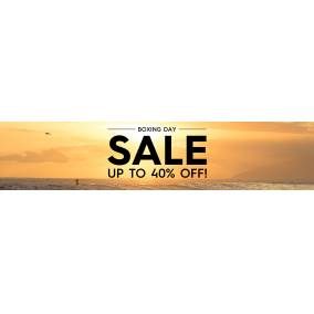 Bargain -  - Boxing Day Sale - Up To 40% OFF Sale on Selected Items @ Quick Silver