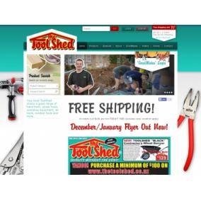 Bargain -  - FREE SHIPPING on All Orders Over $100 @ The Tool Shed