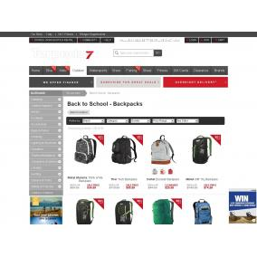 Bargain -  - Up To 50% OFF sale on Back to School - Backpacks @ Torpedo 7