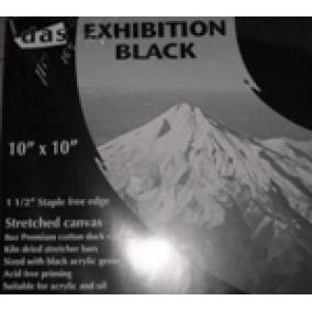 Bargain -  - 20% Off on DAS Black Exhibition Canvases @ Art Supplies