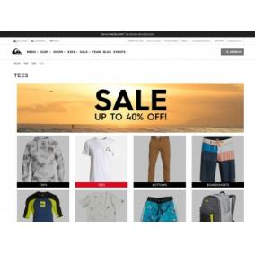 Bargain -  - 40% OFF Sale on Tees @ Quik Silver