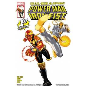 Bargain -  - Free Comics - Power Man and Iron Fist (2010-2011) #1 (of 5) (Save $1.99) @ Comixology
