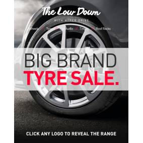 Bargain -  - Book Online and Get $50 OFF on Big Brand Tyres @ Hyper Drive