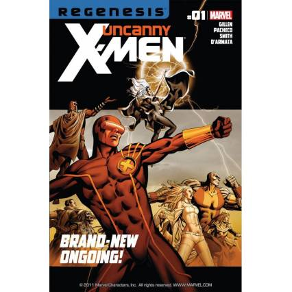 Bargain -  - Free Comics - Uncanny X-Men (2011-2012) #1 (Save $1.99) @ Comixology