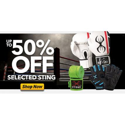 Bargain -  - Up to 50% OFF Sale on Sting Products @ Number One Fitness