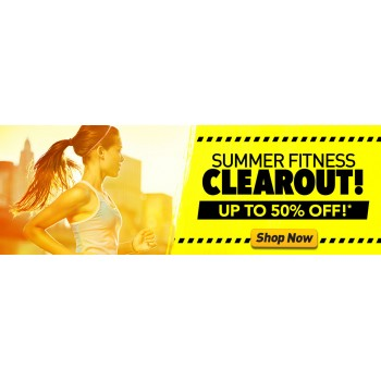 Bargain -  - Summer Fitness Clearout up to 50% OFF Sale @ Number One Fitness