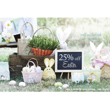 Easter decorations easter gifts deals coupons sales bargains 25 off on easter sale bed bath n table negle Gallery