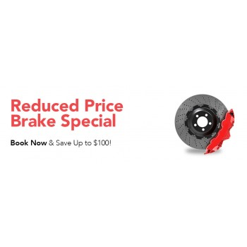 Bargain -  - Book Now and Save up to $100 on Brake Special