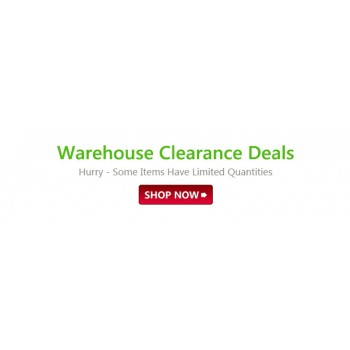 Bargain -  - Save up to 87% OFF on Warehouse Clearance Deals @ Fishpond