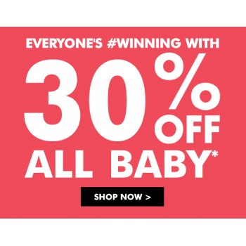 Bargain -  - 30% OFF Sale on All Baby @ Bonds