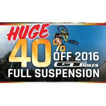 Bargain -  - Huge Sale up to 40% OFF Sale on GT Bikes Full Suspension @ Evolution Cycles