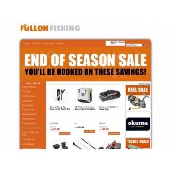 Bargain -  - Up to 50% OFF Sale on Fishing Gear & Accessories @ Fullon Fishing