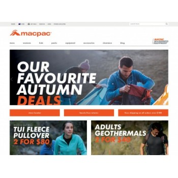 Bargain -  - Up to 50% OFF on Outdoor Equipment Clearance @ Macpac