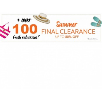 Summer Final Clearance Up to 80% OFF Sale on Selected