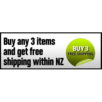 Bargain -  - Buy any 3 Items and Get Free Shipping within NZ @ Fitness Gear 4 U