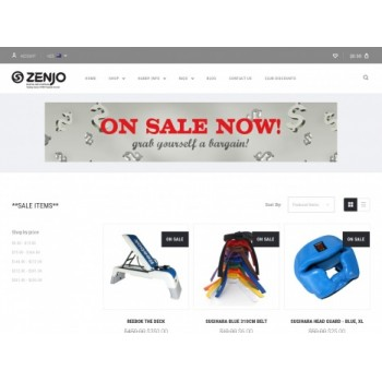 Bargain -  - Up to 50% OFF Sale on Martial Arts Gear @ ZENJO
