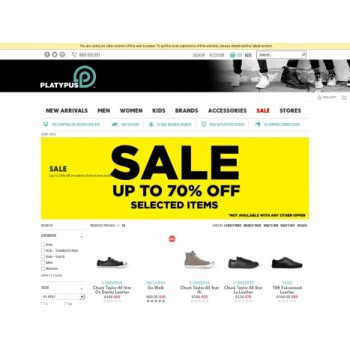 Bargain -  - Up to 70% OFF Sale on Selected Items @ Platypus Shoes