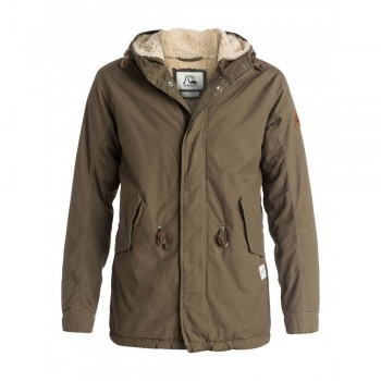 Bargain -  - 149.99 (Was 249.99) MENS KIRK WOOD JACKET @ Quik Silver