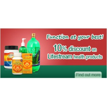 Bargain -  - 10% OFF Sale on Lifestream Health Products @ The Health Store