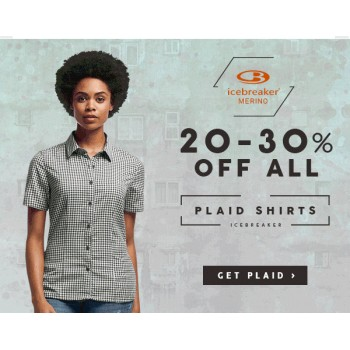 Bargain -  - 20-30% OFF on All Plaid Shirts @ Nature Shop