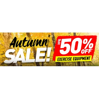 Bargain -  - Autumn Sale - Up to 50% OFF Sale on Exercise Equipment @ Number One Fitness