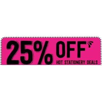 Bargain -  - 25% OFF Sale on Hot Stationery Deals @ Paper Plus
