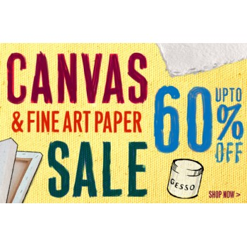 Bargain -  - 60% OFF Sale on Canvas & Fine Art Paper @ Gordon Harris