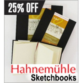 Bargain -  - 25% OFF Sale on Sketchbooks @ Gordon Harris