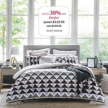 Up to 33% OFF Sale on HARPER Morgan & Finch @ Bed Bath n