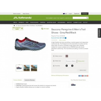 e0a6c6b2b7309 Regular Price   239.98 (Summit Club   215.98) on Saucony Peregrine 6 ...
