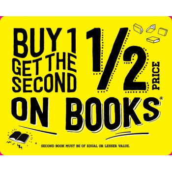 Bargain -  - 5 Day Sale - Buy One and Get 2nd Half Price on Books @ Paper Plus - Ends on Saturday
