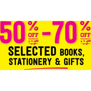 Bargain -  - Save 50-70% Off Sale on Selected Books & Stationary & Gifts @ Paper Plus