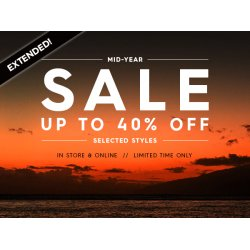 Bargain -  - Mid-Year Sale up to 40% OFF @ Quiksilver