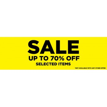 Bargain -  - Up to 70% OFF Sale on Selected Items Continues @ Platypus Shoes