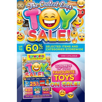 Bargain -  - Toy Sale up to 60% OFF on Selected items @ Toyworld