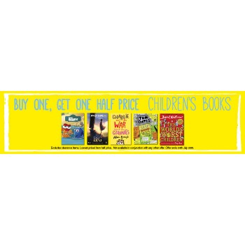 Bargain -  - Buy One, Get One Half Price on Children`s Books @ Whitcoulls