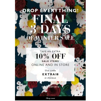 Take an Extra 10% Off on Sale Items @ Trelise Cooper - Bargain Bro