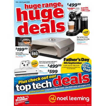Bargain -  - Spend over $100 and save $10 @ - Noel Leeming