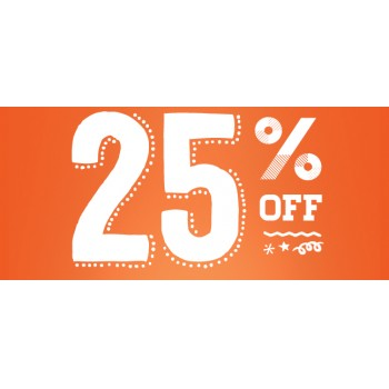 Bargain - 25% OFF - Storewide @ Paper Plus - Saturday Only