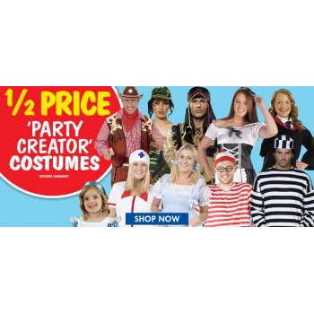 Bargain - 50% OFF - Party Creator Costumes @ Spot Light Stores