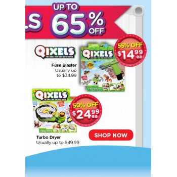Bargain - Up to 65% Off - Qixels - Brands @ Toyworld